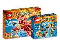 Лего 70221+70229 Super set (Lego Legends Of Chima)
