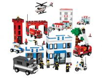 Лего 9314 Набор службы спасения (Lego Education)