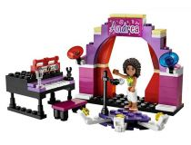 Лего 3932 Сцена Андреа (Lego Friends)