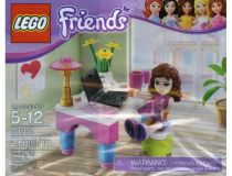 Лего 30102 Промо набор - Столик Оливии (Lego Friends)