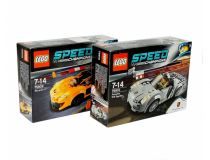 Лего 75909+75910 Super set (Lego Speed Champions)