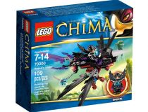 Лего 70000 Планер Ворона Разкала (Lego Legends Of Chima)