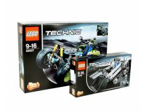 Лего 42032+42037 Super set (Lego Technic)