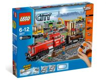 Лего 3677 Red Cargo Train - stock (Lego City)