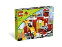 Лего 6168 Fire Station (Lego Duplo)