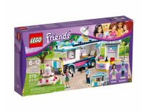 Лего 41056 Автофургон - Новости Хартлейк (Lego Friends)