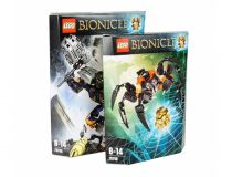 Лего 70789+70790 Super set (Lego Bionicle)