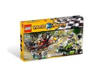 Лего 8899 Болото аллигатора (Lego World Racers)