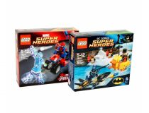 Лего 76010 и 76014 - Super set (Lego Super Heroes)