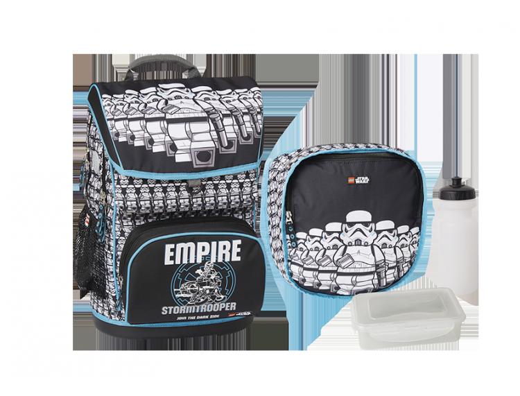 1b8f1e836483 20017-1829 Школьный набор: Рюкзак 28 л + спортивная сумка, бутылка и  ланч-бокс (LEGO STAR WARS)