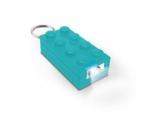 Брелок-фонарик Лего голубой (Lego Friends) - от 12000 р