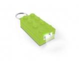 Брелок-фонарик Лего зеленый (Lego Friends) - от 12000 р