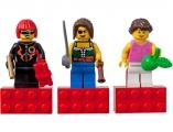 Набор магнитиков - женские минифигурки (Lego Minifigures) - от 11000 р