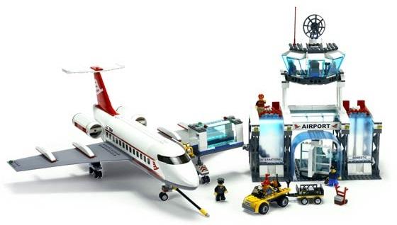 фото самолет лего